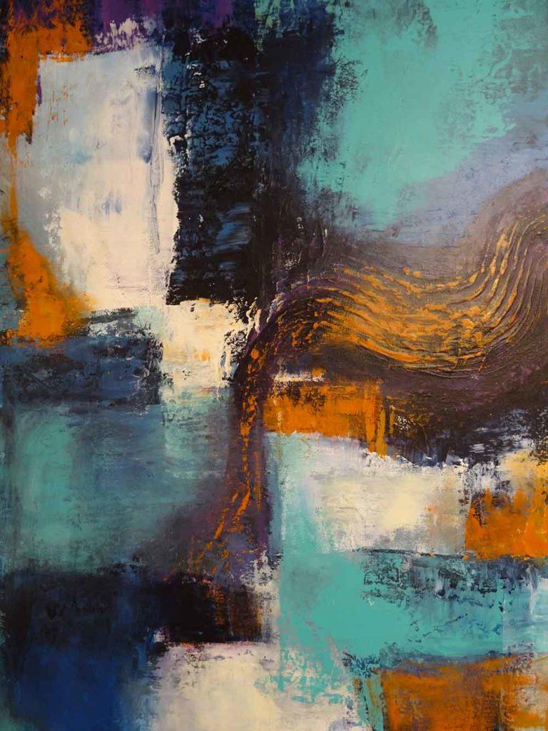 Sinfonie in Farbe II (80 x 120)