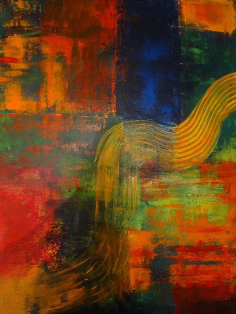 Sinfonie der Farben I (80 x 120)